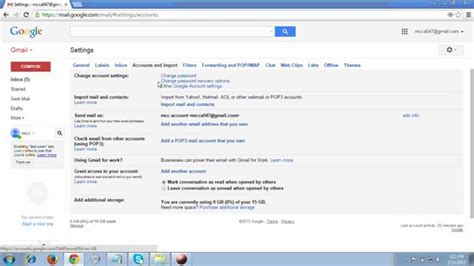 resetting gmail email reset your gmail account password 2015 youtube