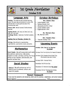 Classroom Weekly Newsletter Template by Sle Weekly Newsletter Template 9 Free Documents