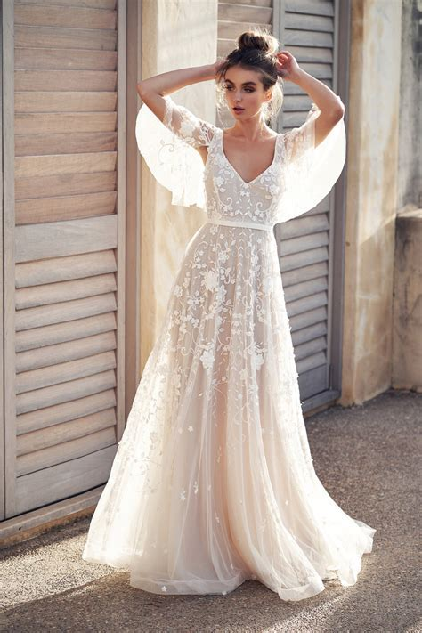 Os vestidos de noiva de Anna Campbell ? coleção 2019