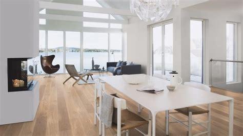 Boen Animoso Oak Engineered Flooring, White, Live Natural
