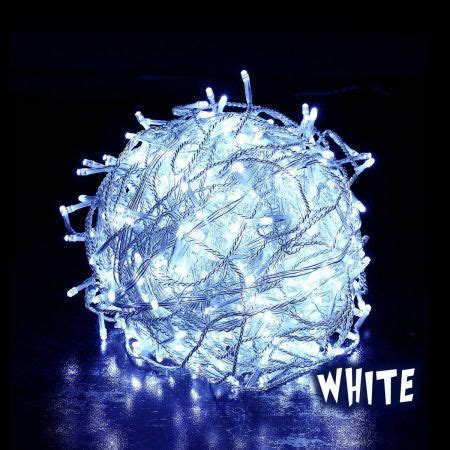 600 led christmas lights icicle indoor outdoor white