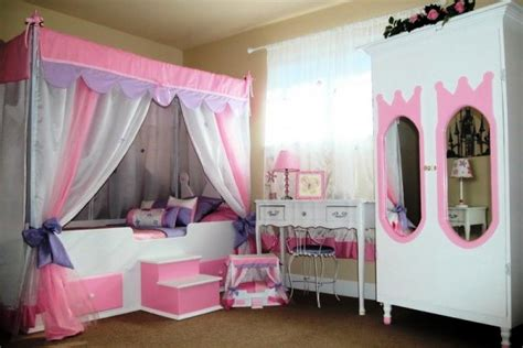 little girl bedroom decorating ideas disney princess canopy toddler bed