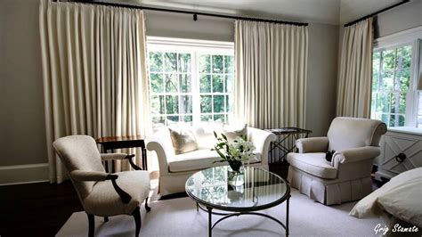 family room drapes living room curtain decorating ideas youtube