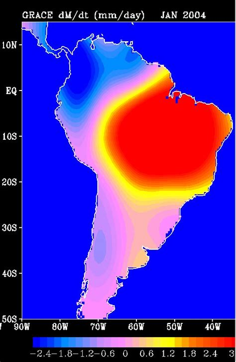 Find In America News Nasa Satellites Find Balance In South America S Water Cycle