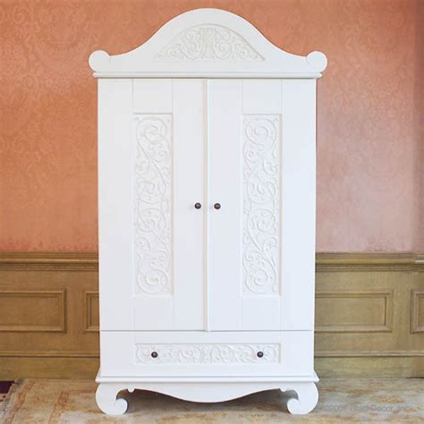 baby armoire white chelsea armoire in white by bratt decor traditional