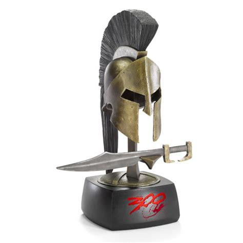 leonidas statue replica full spartan armor 804261 300 king leonidas sword and helmet mini replica set