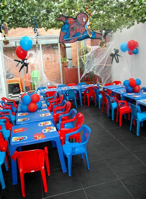 beula decoraciones decoracion de eventos tematicos  infantiles fiesta spiderman
