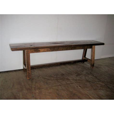 6 foot dining bench rustic barn wood 6 foot bench
