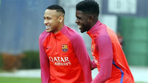 neymar biography in english umtiti explains why suarez neymar laughed at him in