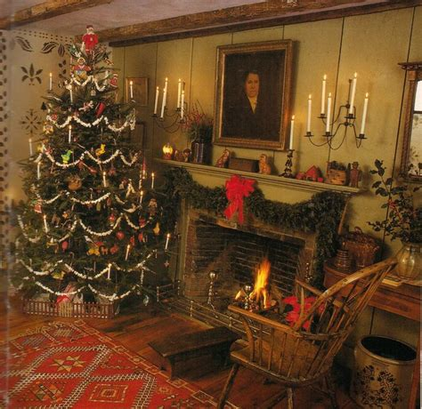 18 best christmas trees colonial primitive country