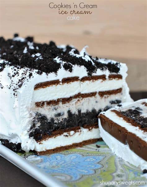 icecream cake oreo cake shugary
