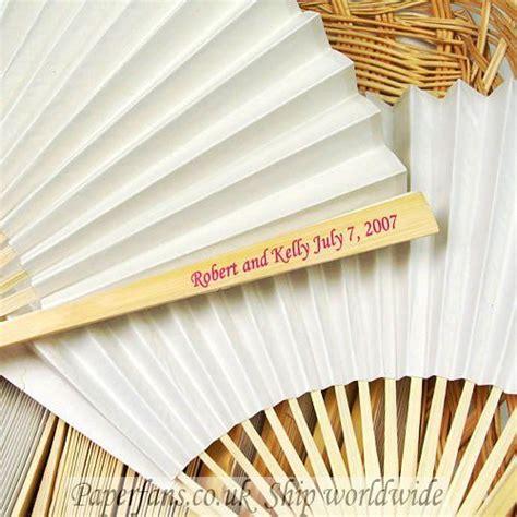 custom printed fans for weddings customized paper wedding fan 0 6