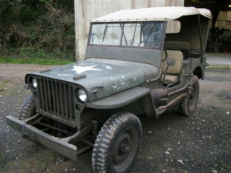 Ford Ww2 Jeep Ford Jeep 1942 Ww2 Jeeps Milweb Classifieds