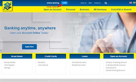 banco of america on line banco do brasil americas banking login login bank