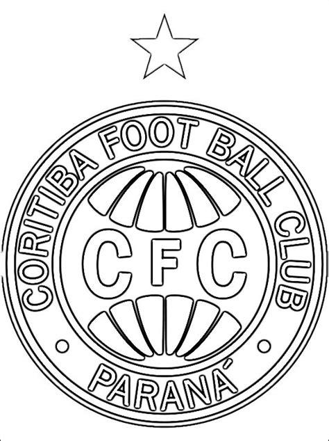 Logo Coritiba Foot Ball Club A Colorier Coloriage 224