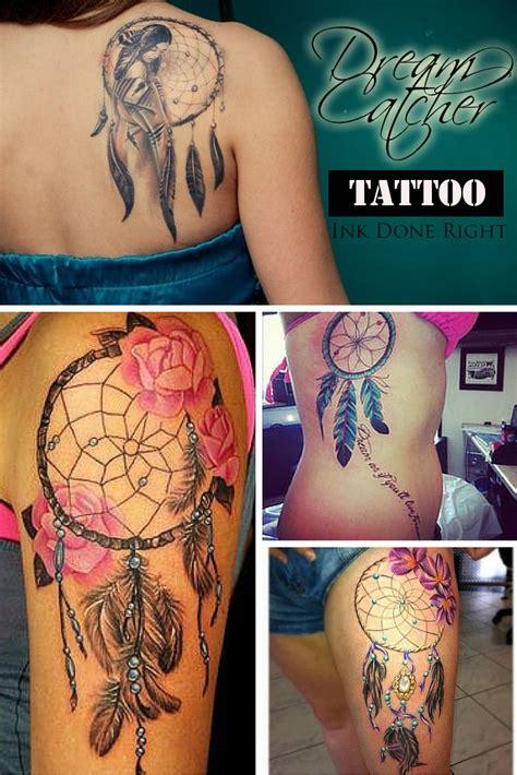 dream catcher tattoos for girls 5 ideas for inkdoenright