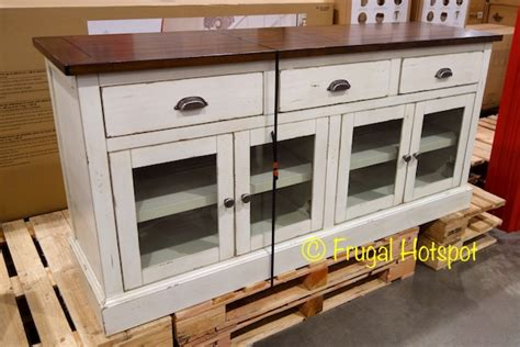bayside furnishings accent cabinet costco bayside furnishings 72 quot accent cabinet 499 99