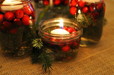 5 simple diy holiday centerpieces mommy in sports