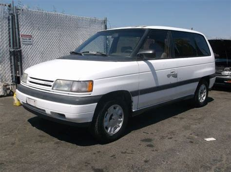 sell used 1992 mazda mpv no reserve in orange california united states