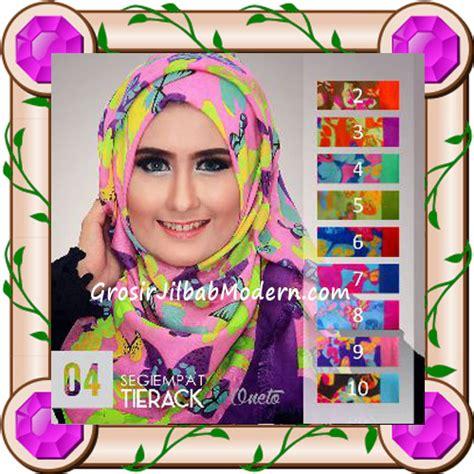 Jilbab Segi Empat Modern jilbab segi empat modern bahan tierack oneto seri 4