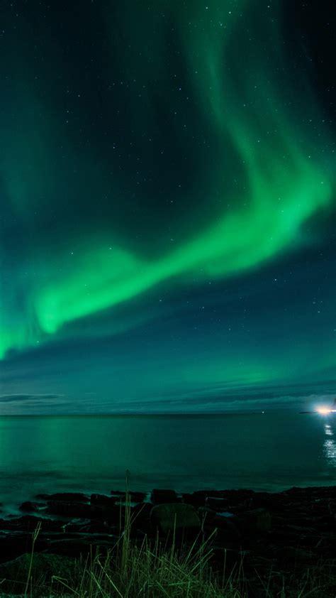aurora borealis hd wallpaper  mobile pixelstalknet