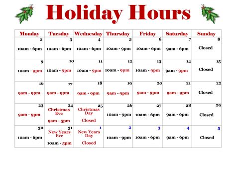 holiday hours sign template calendar template 2016 county calendar calendar template 2016