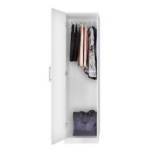 Narrow Closet Doors Alta Narrow Wardrobe Closet Left Opening Door Contempo Space