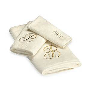 gold bath towels avanti premier gold script monogram bath towel in ivory