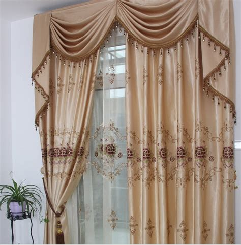 Different Designs Of Curtains Decor Aliexpress Buy Ready Curtain 3pcs Lot Embroidered Curtains With Hooks Punching Rod
