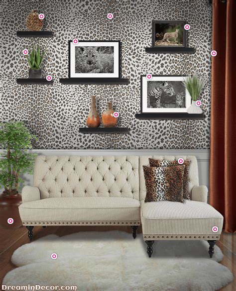 leopard print home decor trend spotting get fierce home style with leopard print decor