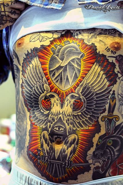 oliver peck tattoo daily dose of tattoos stomach by oliver peck http
