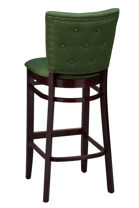 counter height table with upholstered chairs regal seating series 2420 wooden counter height bar stool