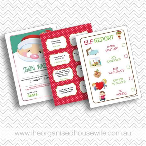 elf on the shelf clean your room printable elf on the shelf guide planner christmas makes