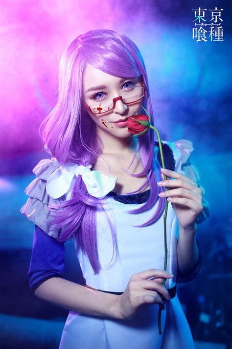 tokyo ghoul rize kamishiro cosplay rolecosplay