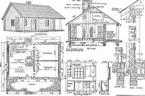 Cabin Blueprints Log Home Plans 11 Totally Free Diy Log Cabin Floor Plans