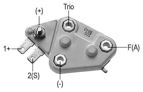 wiring diagram delco alternator 10si wiring get free