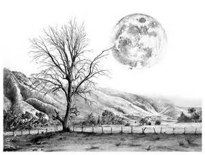 10 beautiful landscape drawings for inspiration hative