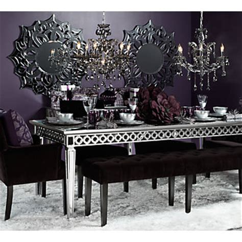 mirrored dining table for sale mirrored dining table