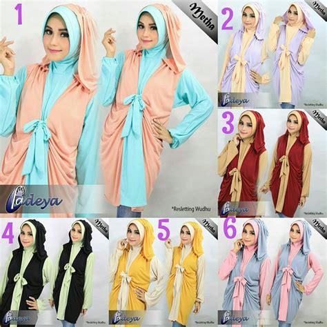 Supplier Ivory Tunik By Hijabmorfosa jual metha tunik by fadeya toko jilbab branded