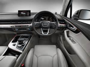 Audi Q7 Inside 2016 Audi Q7 Interior Official Pics 1 Carblogindia