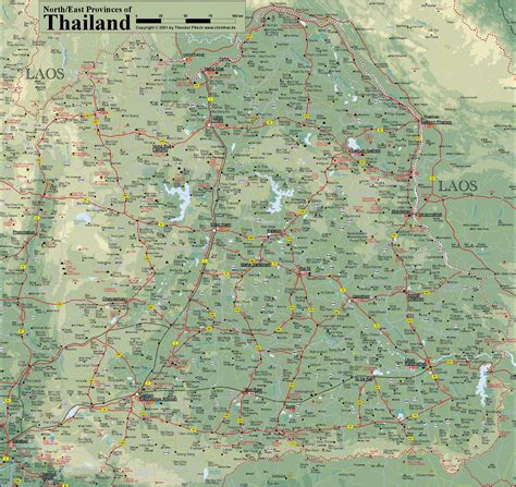 printable map thailand thailand maps printable maps of thailand for download