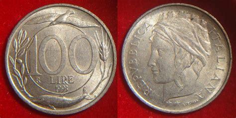 100 lire 1993 testa piccola 100 lire 1993 testa piccola