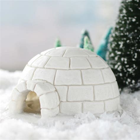 igloo crafts for miniature igloo garden miniatures dollhouse