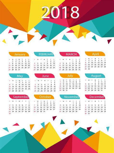 Calendar 2018 Png Happy New Year 2018 Calendar
