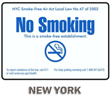 no smoking sign nyc new york city no smoking sign r5725 by safetysign com