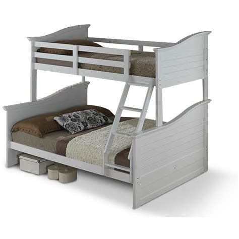 kids double bed wave double bed with single bunk bed kids furniture