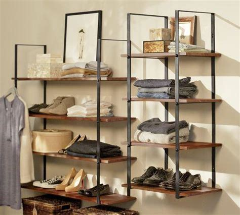 pottery barn wall shelves closet wall shelf pottery barn