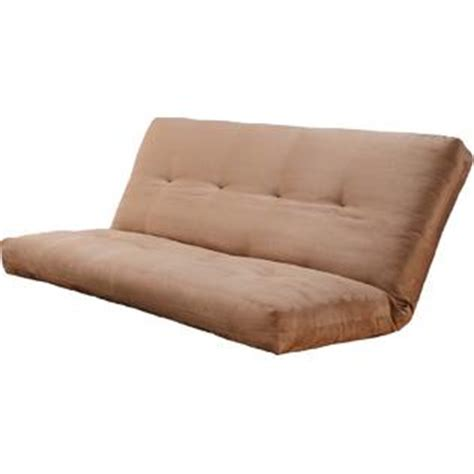 futon mattress only kodiak suede futon mattress only peat microfiber fabric