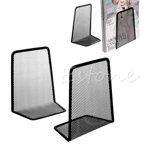 1 Pair Metal Mesh Desk Organizer Desktop Office Mesh Desk Accessories