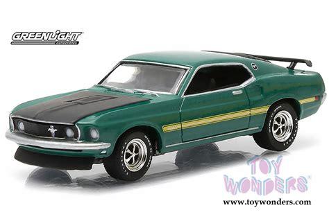 Grrenlight Ford Mustang greenlight gl series 13 1969 ford mustang mach